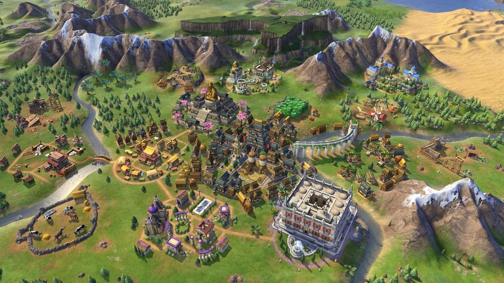 シドマイヤーズ シヴィライゼーション6 (Sid Meier's Civilization VI)Civ6 PC 多国籍文明のスクリーンショット