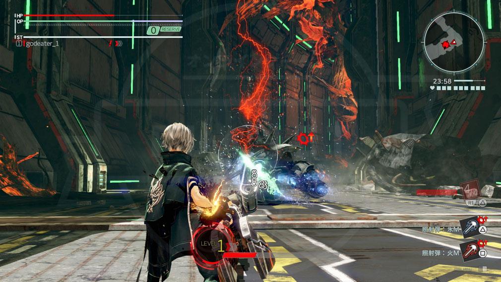 GOD EATER 3(ゴッドイーター3) GE3 PC 常にアラガミに対してバレットで大ダメージを与え続ける立ち回れる『リンクバースト弾』スクリーンショット