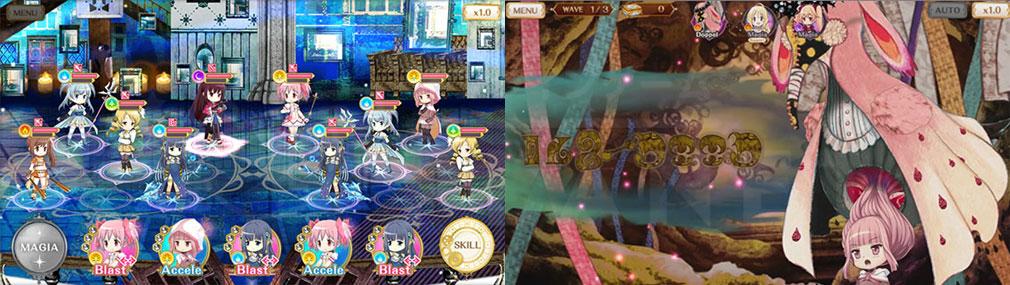 マギアレコード(マギレコ) 魔法少女まどか☆マギカ外伝 PC版 『ミラーズ』、『ドッペル』スクリーンショット