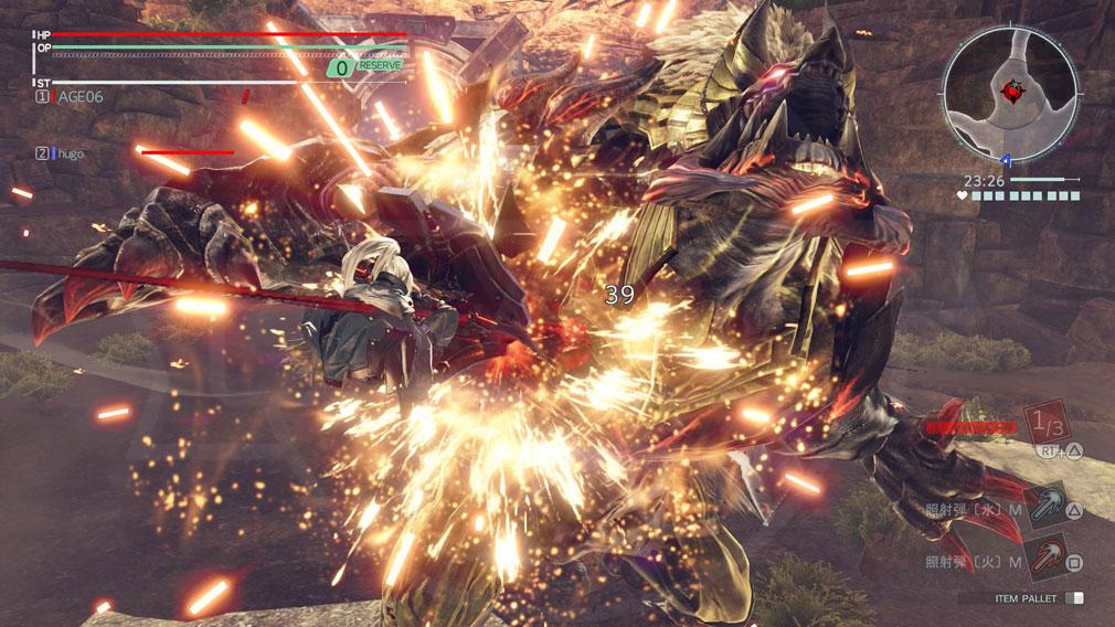 GOD EATER 3(ゴッドイーター3) GE3 PC 新アクション『ダイブ』スクリーンショット