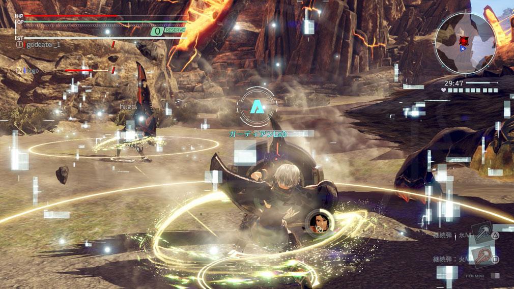 GOD EATER 3(ゴッドイーター3) GE3 PC 『エンゲージ』発動中のアクセルトリガースクリーンショット