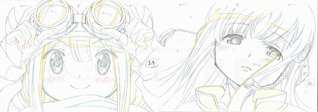 マギアレコード(マギレコ) 魔法少女まどか☆マギカ外伝 PC版 シャフトが制作した変身アニメーション原画
