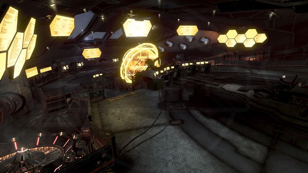 GOD EATER 3(ゴッドイーター3) GE3 PC ミナト『クリサンセマム』母船内部スクリーンショット