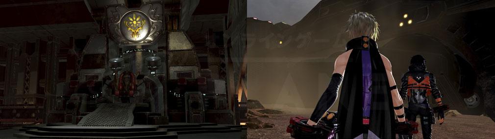 GOD EATER 3(ゴッドイーター3) GE3 PC ミナト『クリサンセマム』母船内部、出会いスクリーンショット