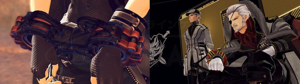 GOD EATER 3(ゴッドイーター3) GE3 PC 現状のゴッドイーターの奴隷契約を行わせられる立場、『フェンリル本部奪還作戦』の決行を宣言するガドリン総督スクリーンショット