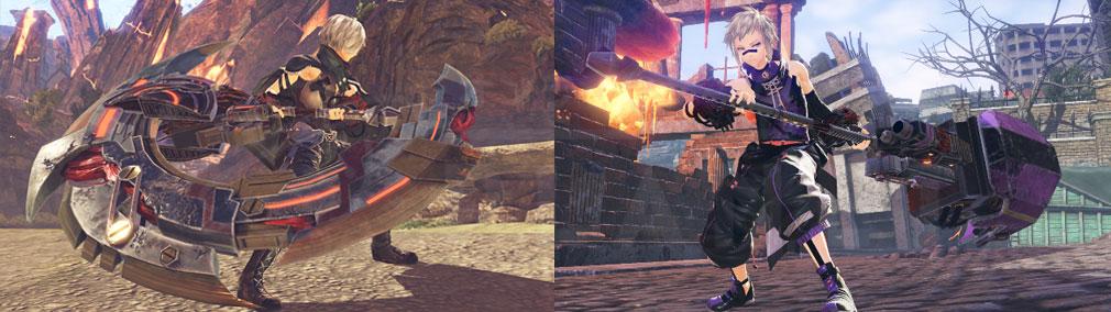 GOD EATER 3(ゴッドイーター3)  GE3 PC 新『神機』、新キャラクターのスクリーンショット
