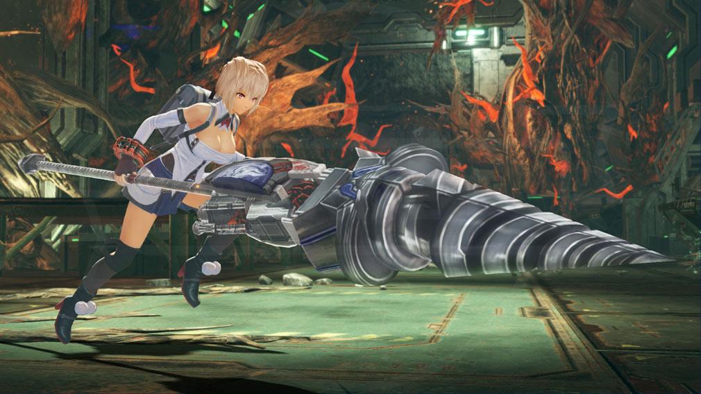 GOD EATER 3(ゴッドイーター3)  GE3 PC 新キャラクター『クレア』バトルスクリーンショット