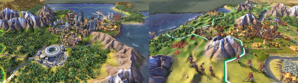シドマイヤーズ シヴィライゼーション6 (Sid Meier's Civilization VI)Civ6 PC プレイスクリーンショット