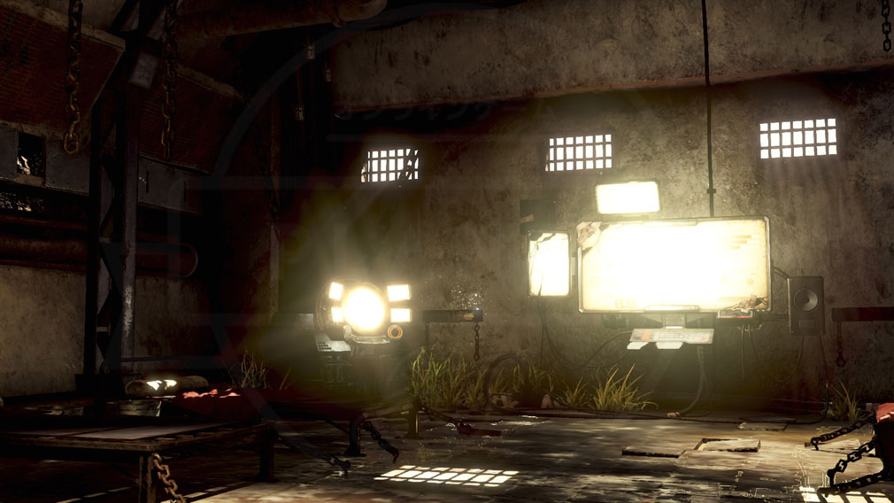 GOD EATER 3(ゴッドイーター3) GE3 PC ミナト『ペニーウォート』の地下拠点スクリーンショット