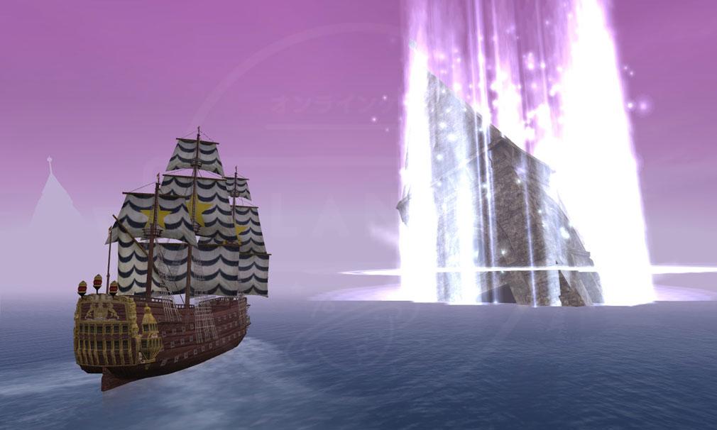 大航海時代 Online Lost Memories (ロスト メモリーズ) 幻想的な海を探索し、最奥を目指す新たな『伝承航路』スクリーンショット