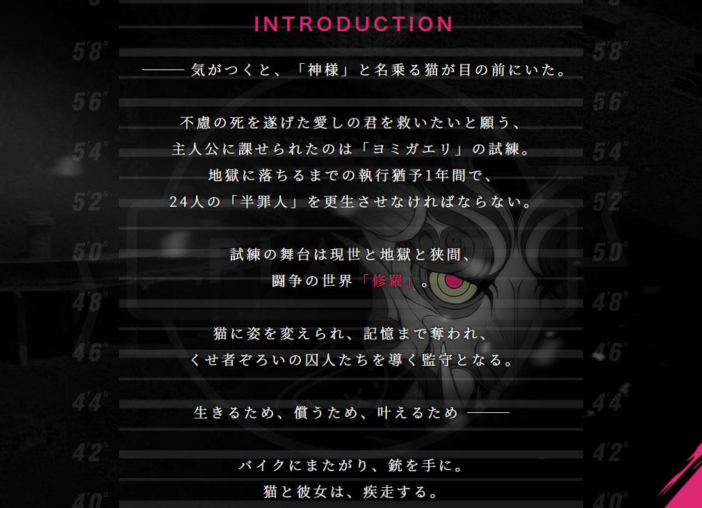 クリミナルガールズX イントロ紹介イメージ