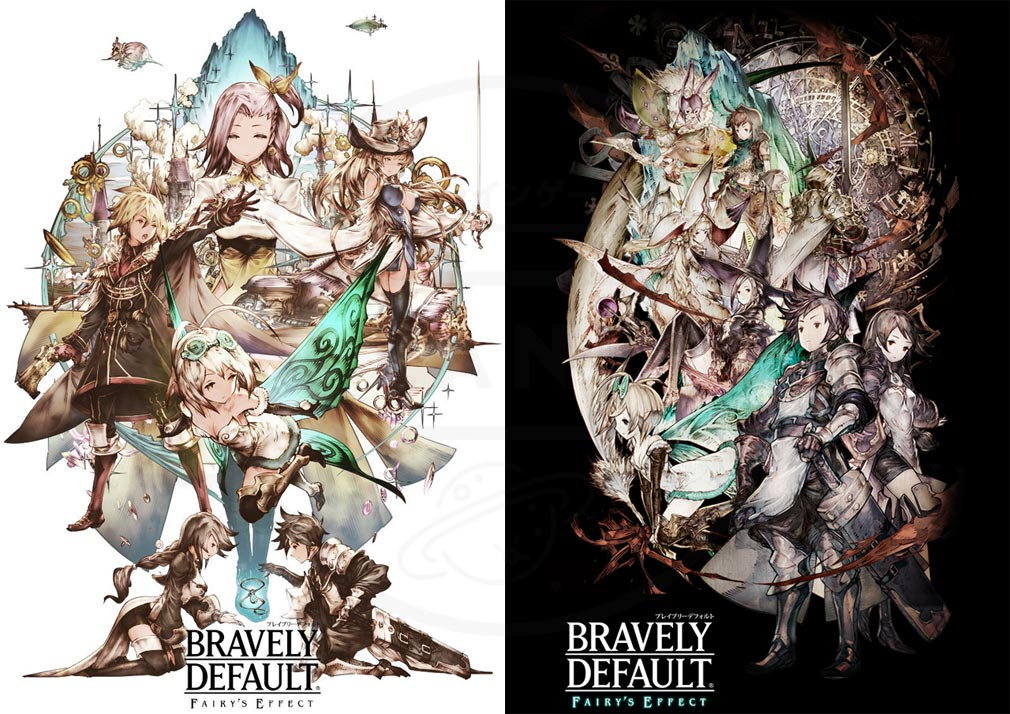 BRAVELY DEFAULT FAIRY'S EFFECT(BDFE) ブレイブリーデフォルト フェアリーズエフェクト アートワークイメージ