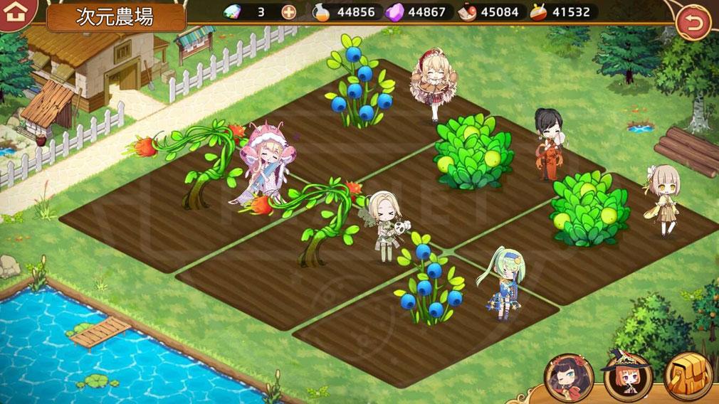 キュイディメ PC 『次元農場』スクリーンショット
