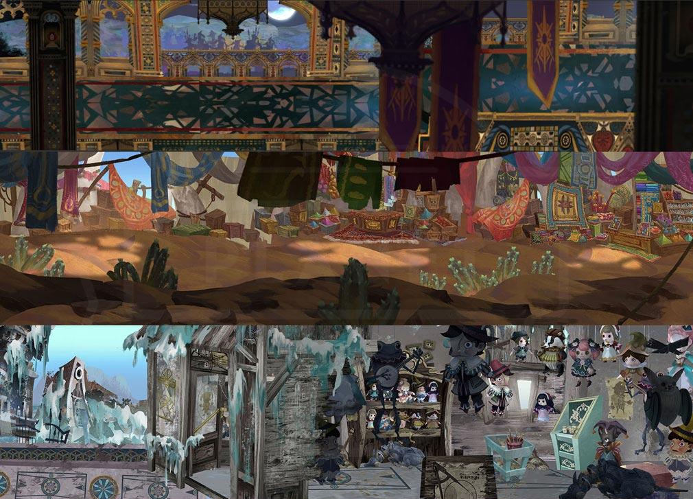 Sdorica(スドリカ) ゲーム内の多彩なステージ紹介イメージ
