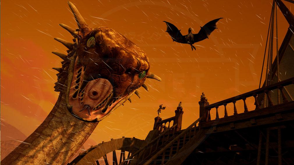 TITAN SLAYER2(タイタンスレイヤー2) 砂漠エリアにいるモンスタースクリーンショット