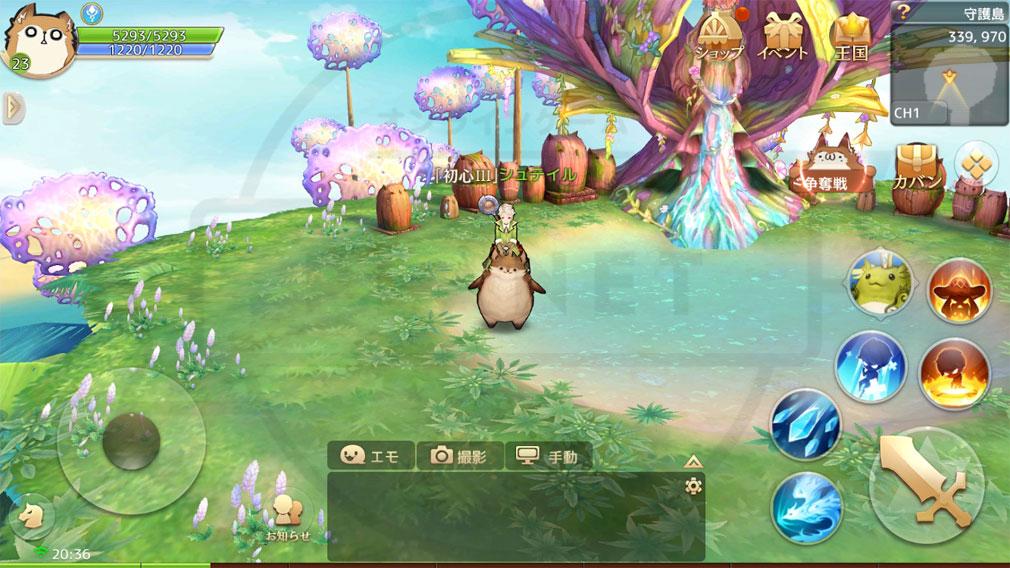 Ash Tale (アッシュテイル) 風の大陸 ゲーム内スクリーンショット