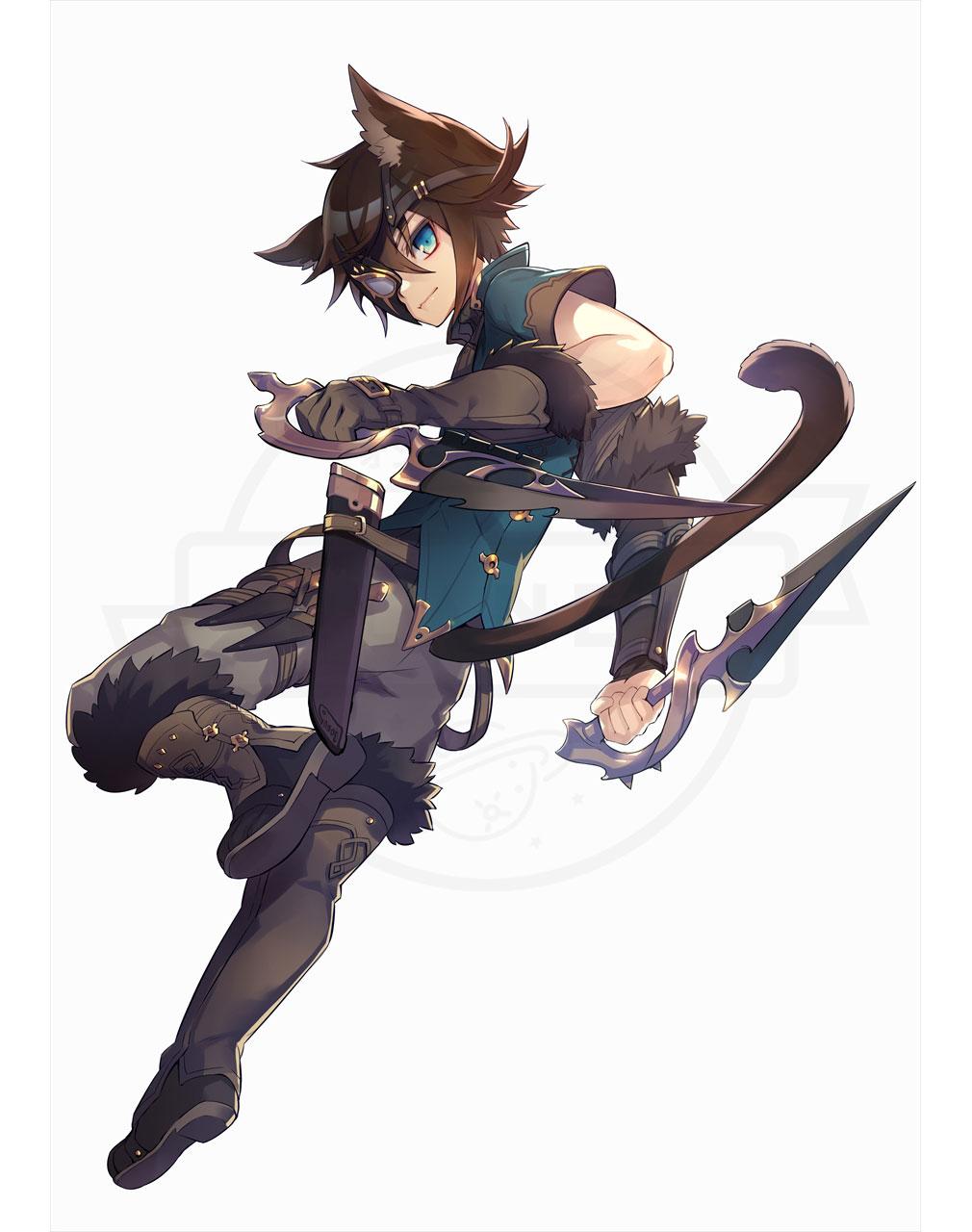 Ash Tale (アッシュテイル) 風の大陸 キャラクター『リンク』イメージ紹介