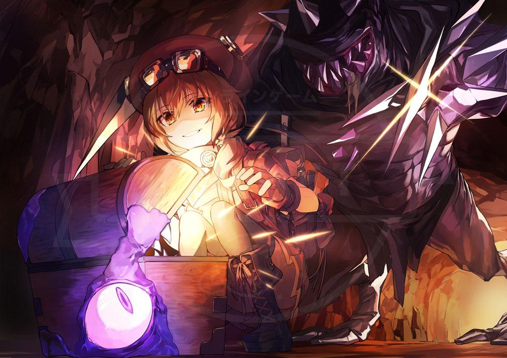 アンダーラビリンス(アンラビ) 洞窟イメージ