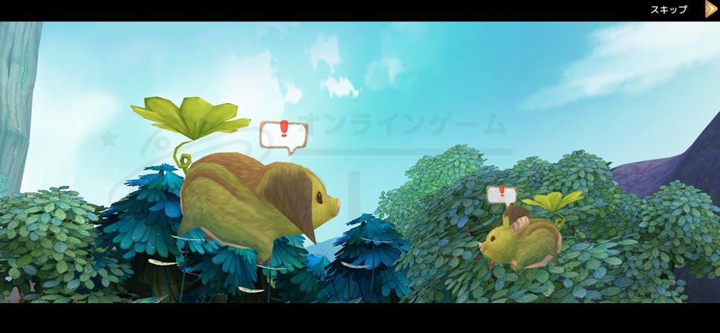 Ash Tale (アッシュテイル) 風の大陸 シナリオパートアニメーションスクリーンショット