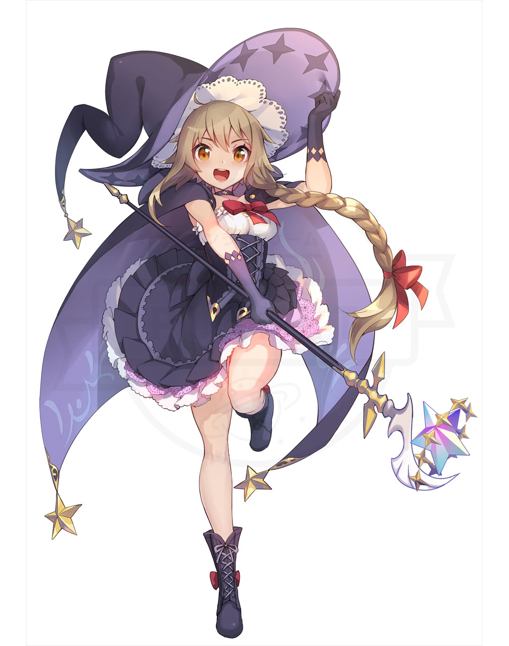 Ash Tale (アッシュテイル) 風の大陸 キャラクター『ミルトニア』イメージ紹介
