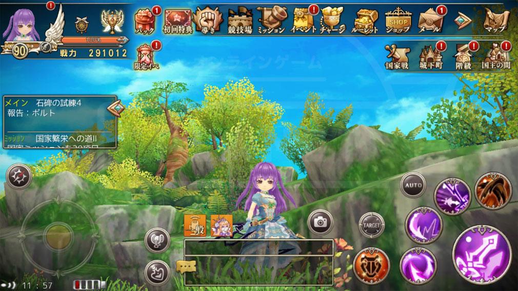 暁のエピカ -Union Brave- プレイ画面スクリーンショット