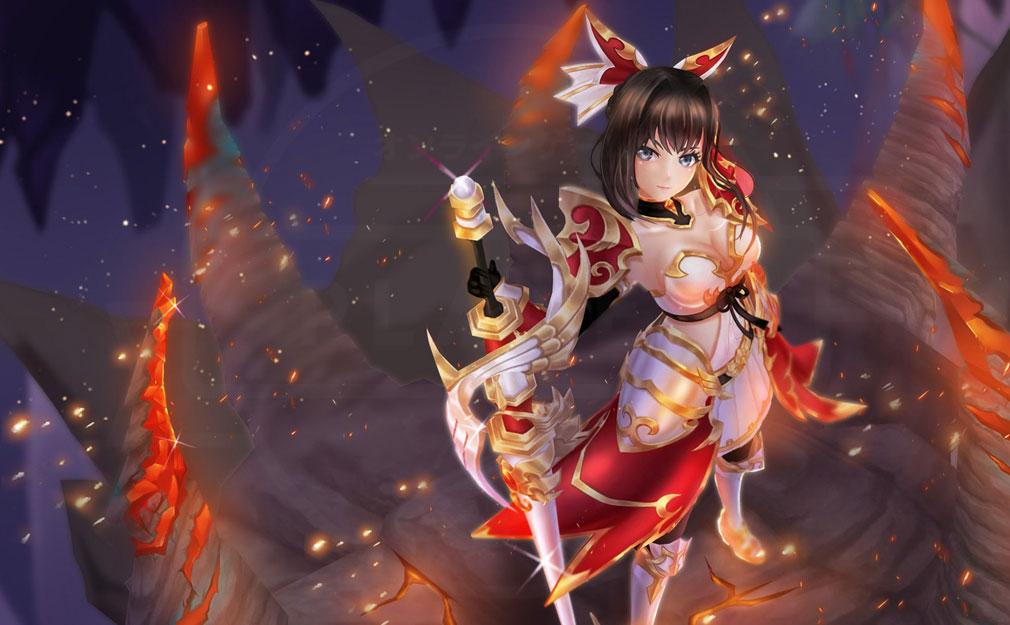 暁のエピカ -Union Brave- 英雄キャラクター紅蓮の槍『フレイ』スクリーンショット
