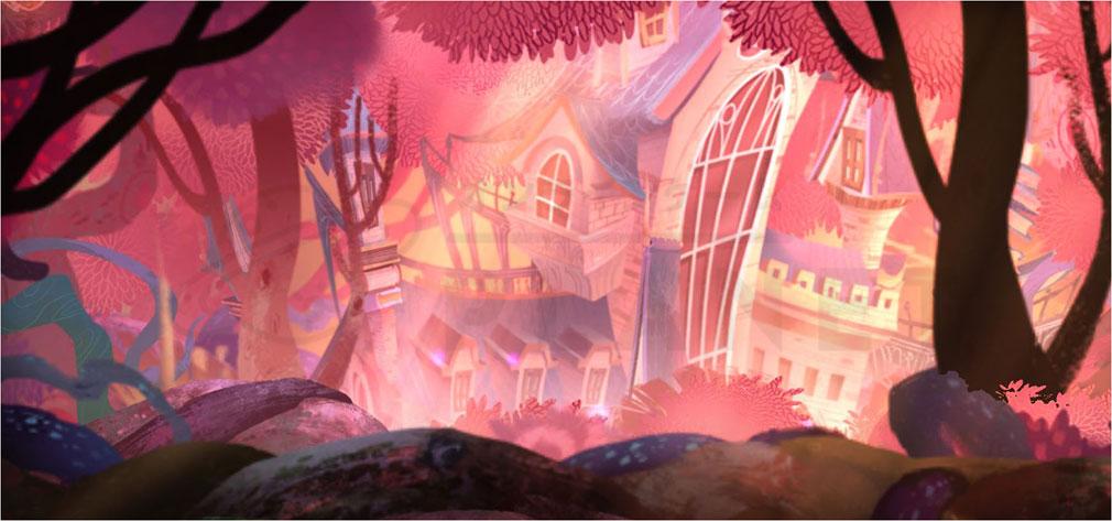 Sdorica(スドリカ) アニメさながらに処理した背景イメージ