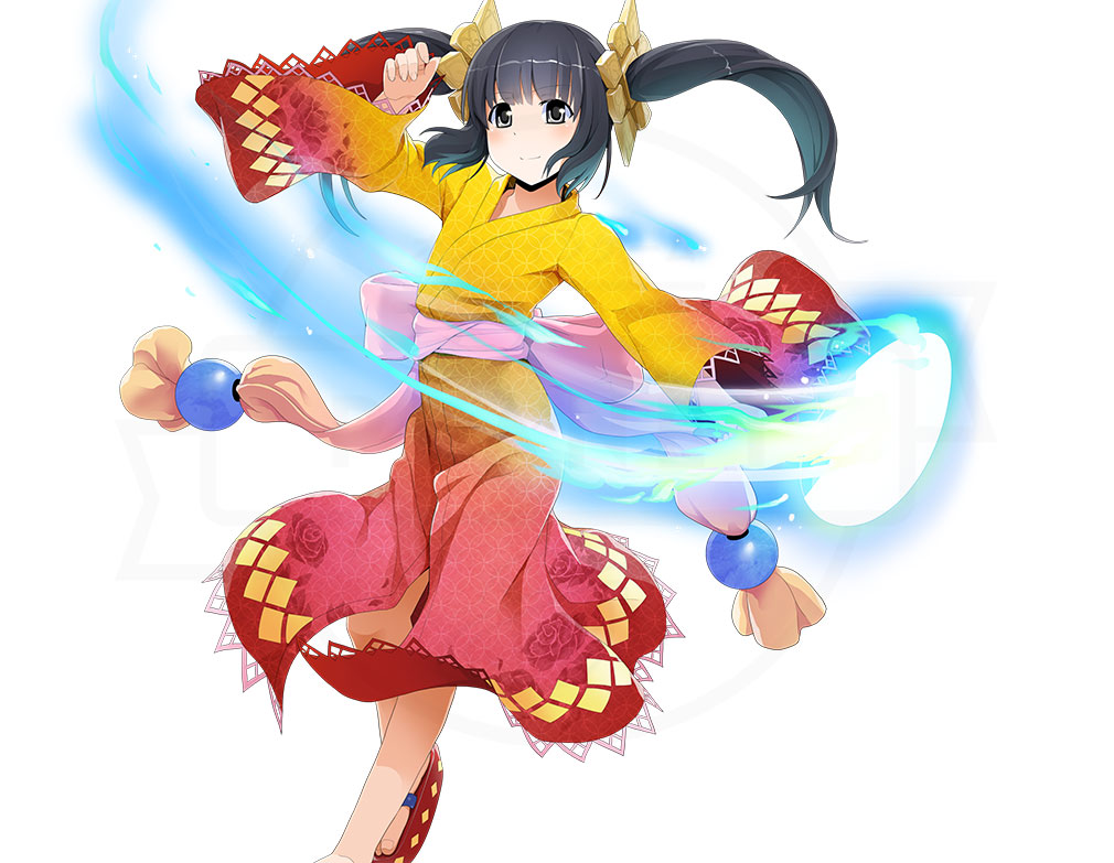 鬼斬(Onigiri) なかよしキャラクター『あまてらす』イメージ