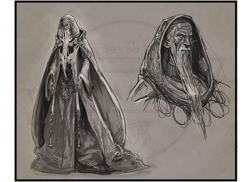 De Lithe(ディライズ) 忘却の真王と盟約の天使 人間だった頃のグラムリース『モーゼル・カダコス』紹介イメージ