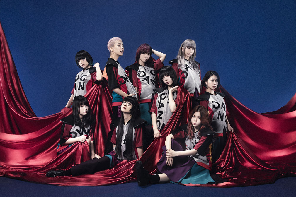 マジカミ(MAGIC AMI) MGCM 主題歌、挿入歌を担当する『GANG PARADE(ギャングパレード)ギャンパレ』イメージ