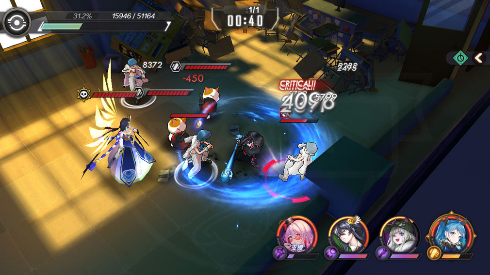 Witch's Weapon 魔女兵器 バトルスクリーンショット