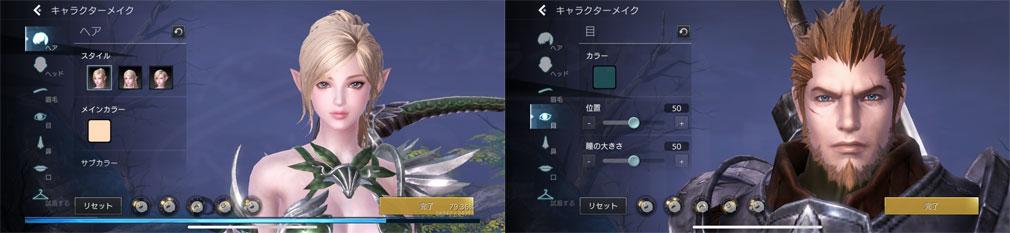 TERA ORIGIN(テラ・オリジン) 『アーチャー』、『スレイヤー』キャラクタークリエイトスクリーンショット