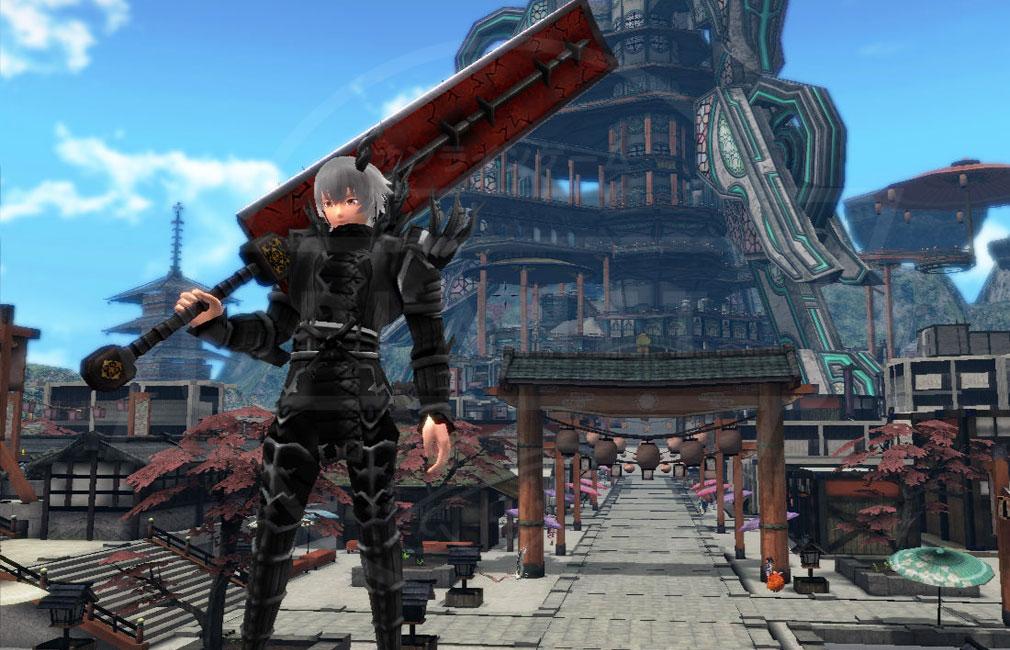 鬼斬(Onigiri) 武器製作レシピで獲得した武器スクリーンショット