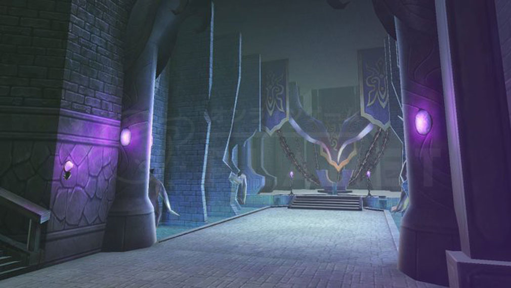 De Lithe(ディライズ) 忘却の真王と盟約の天使 エリア『エニカウ地下神殿』紹介イメージ