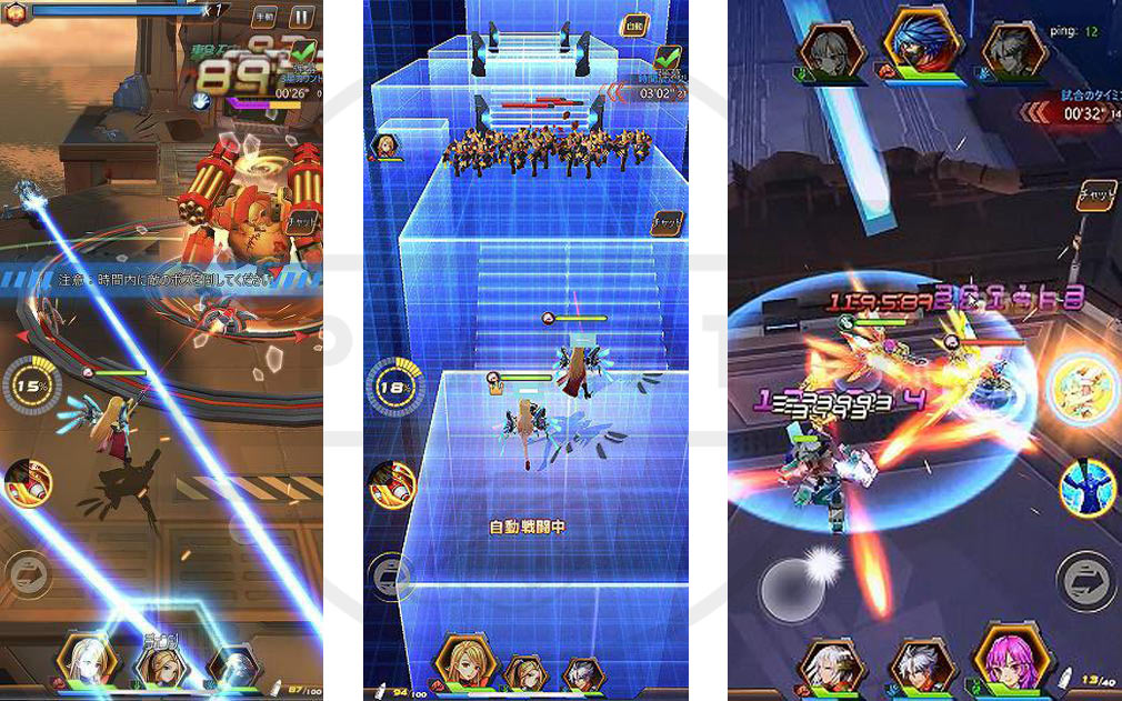 Guns of Soul2(ガンズオブソウル2) GOS2 縦型スクロールで楽しめるワンフィンガーシューティングRPGスクリーンショット
