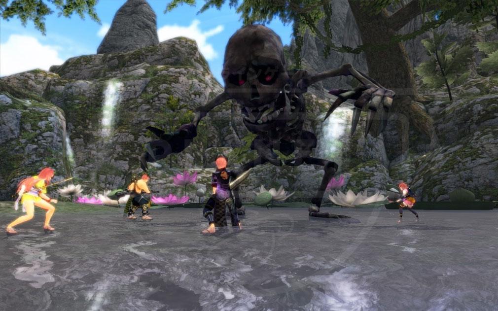 鬼斬(Onigiri) 強大な敵『神喰い』へ挑むパーティープレイスクリーンショット