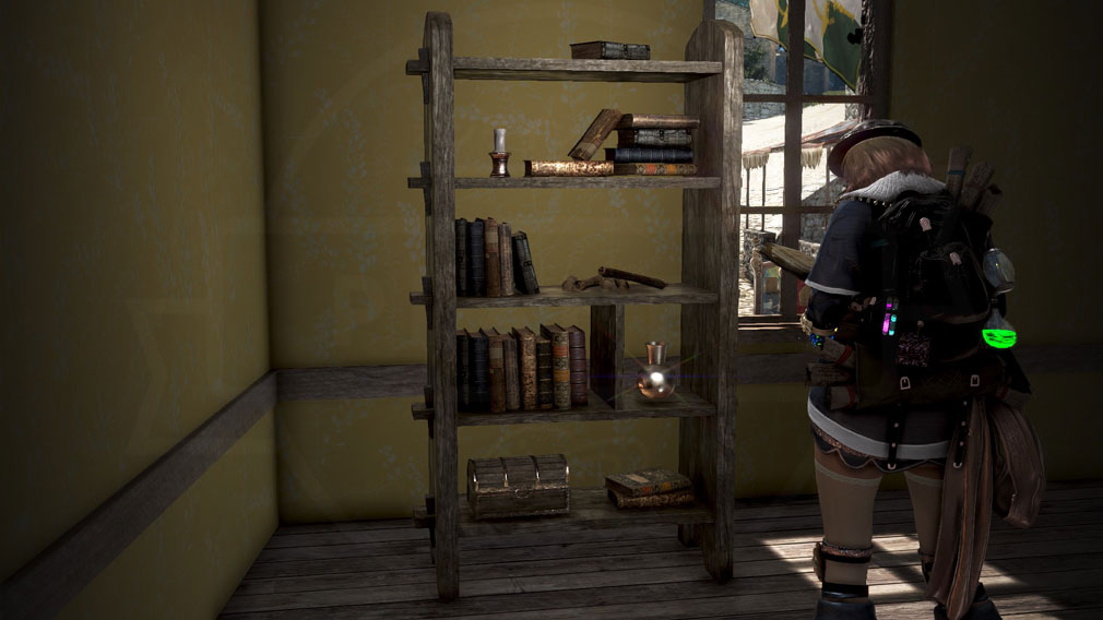 黒い砂漠 家具『セレンディア生態系手作り本棚』スクリーンショット