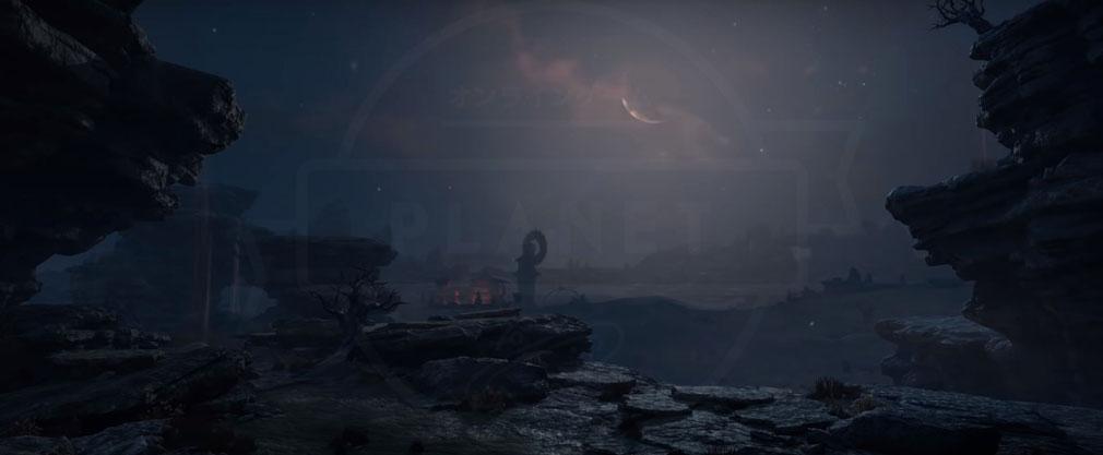 Blade & Soul M(ブレイドアンドソウルモバイル) 天気変化『夜』紹介イメージ