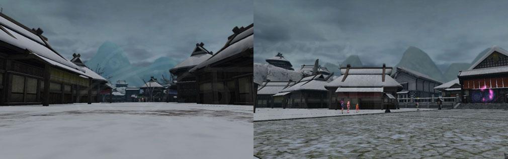 鬼斬(Onigiri) マップ『越後』フィールドスクリーンショット