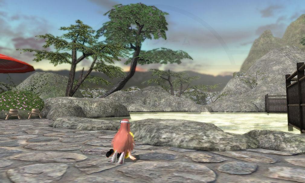 鬼斬(Onigiri) マップ『草津』の温泉スクリーンショット