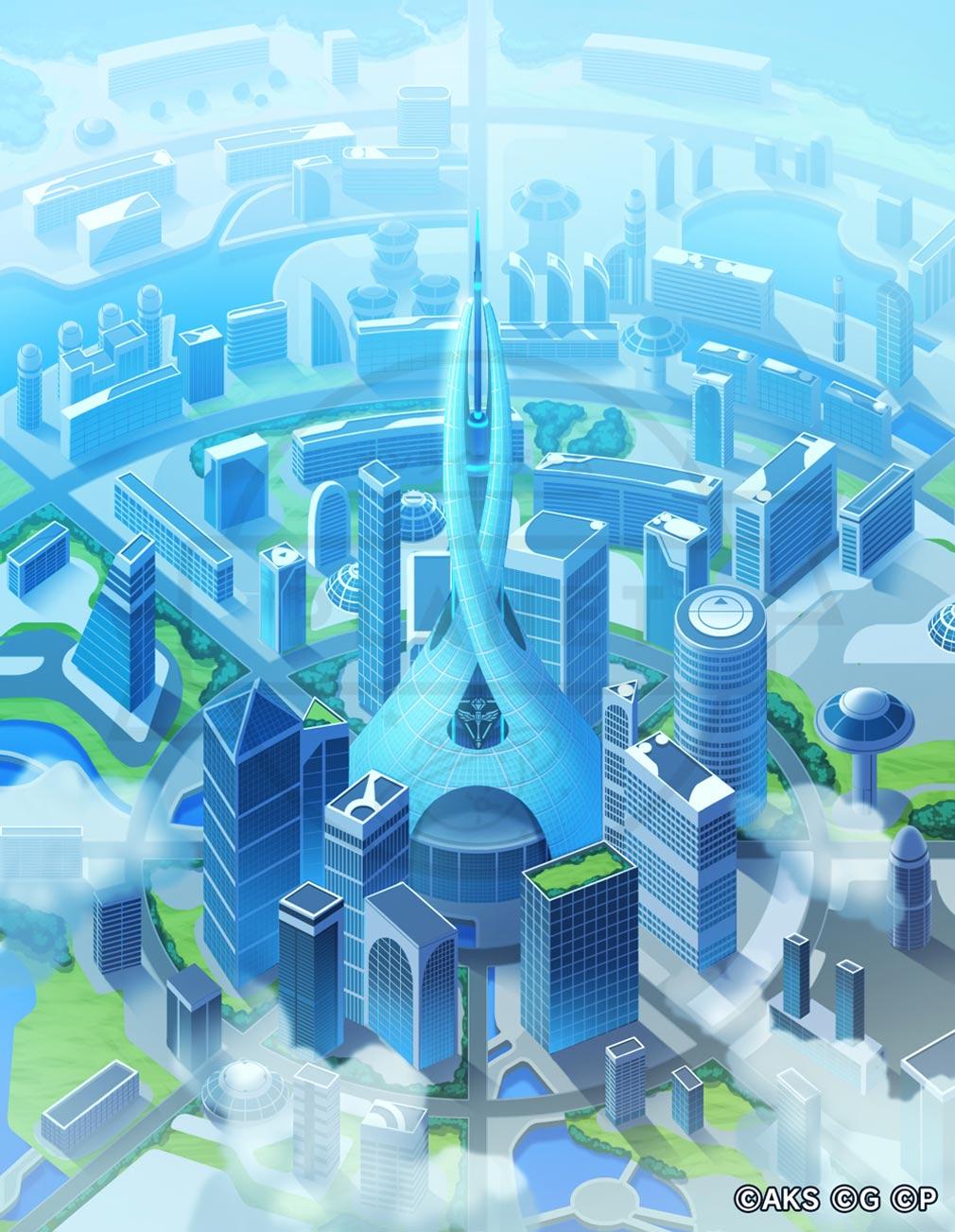 AKB48ステージファイター2 バトルフェスティバル(バトフェス) 巨大都市国家『シアター・ヘブン』紹介イメージ