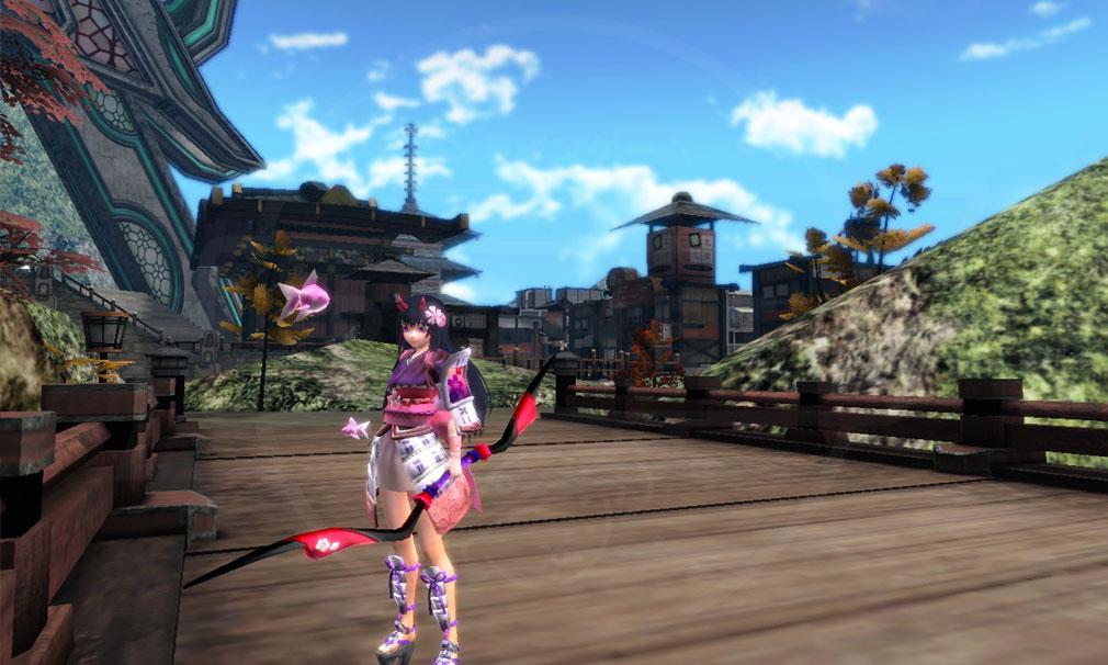 鬼斬(Onigiri) 和風コスチュームを装着したスクリーンショット