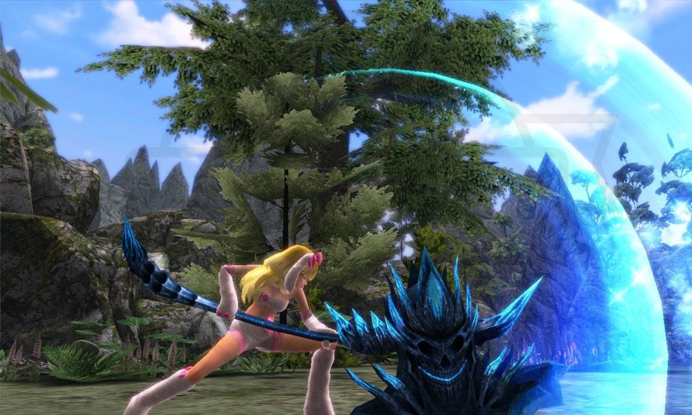 鬼斬(Onigiri) 武器『斧』を使用したバトルスクリーンショット