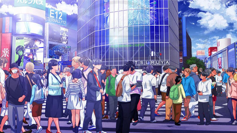 マジカミ(MAGIC AMI) MGCM 渋谷を舞台にした『スクランブル交差点』イメージ