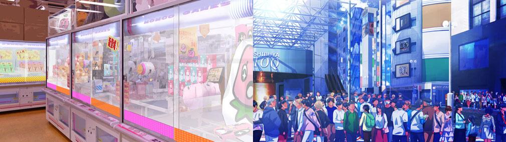 マジカミ(MAGIC AMI) MGCM 渋谷を舞台にした『ゲームセンター』、『渋谷109』イメージ