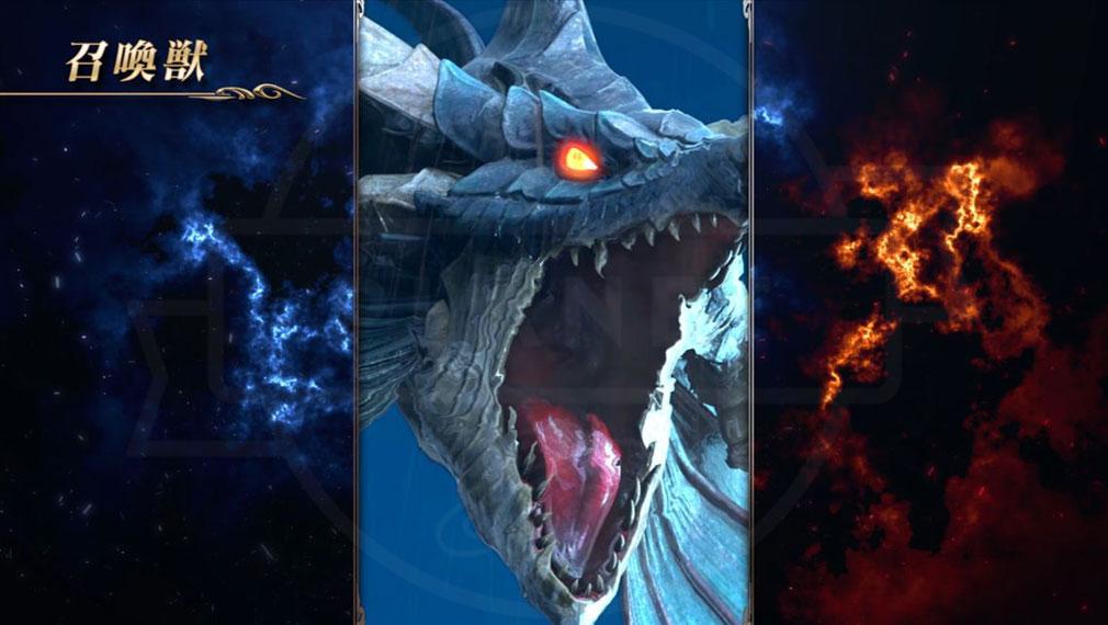 ラストクラウディア(LAST CLOUDIA)ラスクラ ハイエンドムービー演出の『召喚獣』バトル紹介イメージ