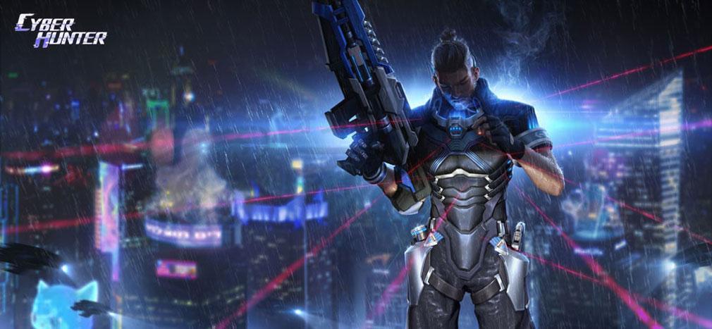 サイバーハンター(Cyber Hunter) キャラクター『マックス(MAX)』紹介イメージ