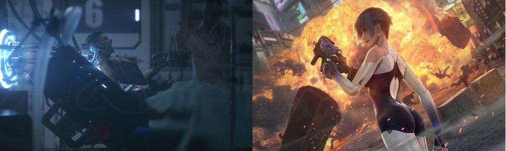 サイバーハンター(Cyber Hunter) キャラクター『マックス』『ゼロ』紹介イメージ
