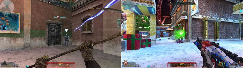 Battle Teams 近接武器、エイリアンとのバトルスクリーンショット
