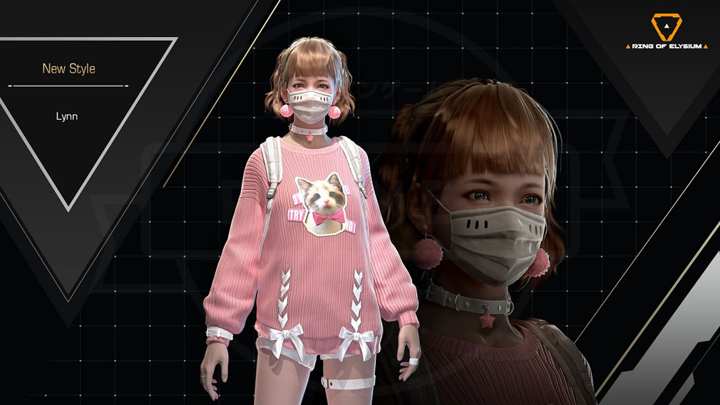 Ring of Elysium (ROE) リン(Lynn)紹介イメージ